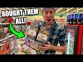 Buying EVERY PACK OF POKEMON CARDS at a Dollar Tree Store Location!