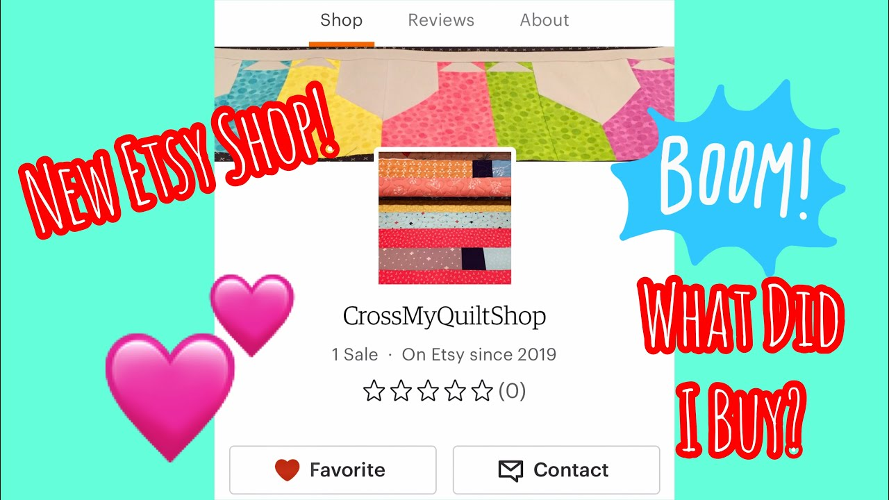 Check Out Cross My Quilt Etsy Shop  |  New Items Handmade by Lisa!