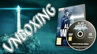 Unboxing da Edição Especial de Alan Wake PC
