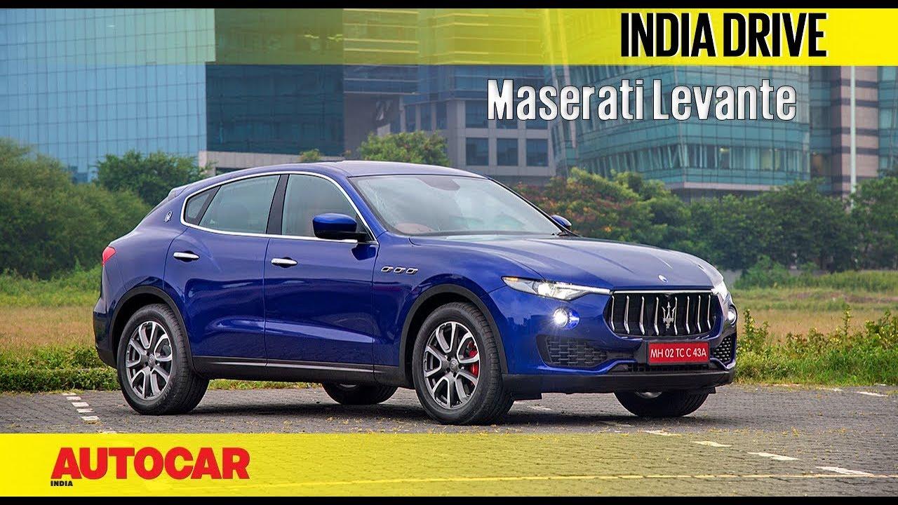 Maserati Levante   India Drive   Autocar India