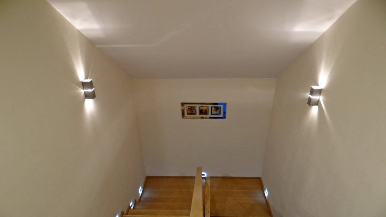 Install Wall Sconces Along The Stairwell