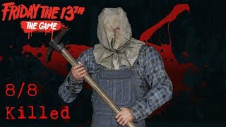 Friday the 13th The Game - Jason Part 2 - 8/8 Killed