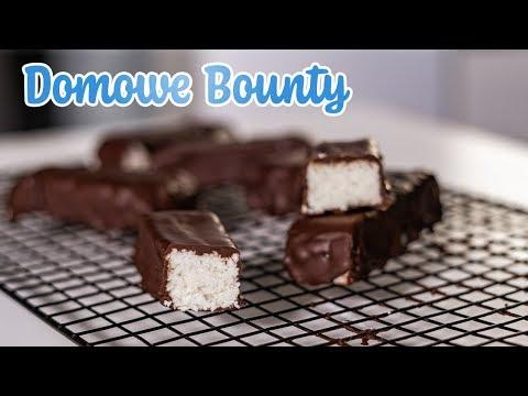 Fit Batoniki Bounty || Zdrowe Znane Słodycze Bez Cukru