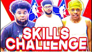 *CRAZY* NBA Obstacle Course Skills Challenge 🏀 📷 | IRL Basketball Video