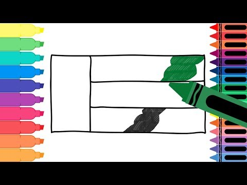 How to Draw United Arab Emirates Flag - Drawing the Emirati Flag - Coloring Pages | Tanimated Toys