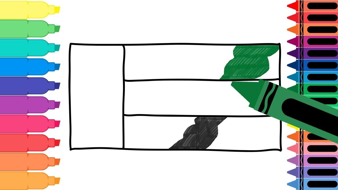 How To Draw United Arab Emirates Flag