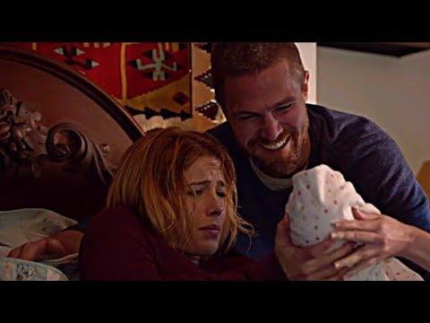 Arrow 7×16 Felicity Gives Birth To Mia Smoak| Nyssa Al Ghul Trains Mia