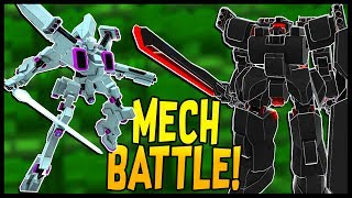 Garrison Archangel - MECH BATTLES! Gundam Wing Meets Clone Drone - Garrison Archangel Gameplay