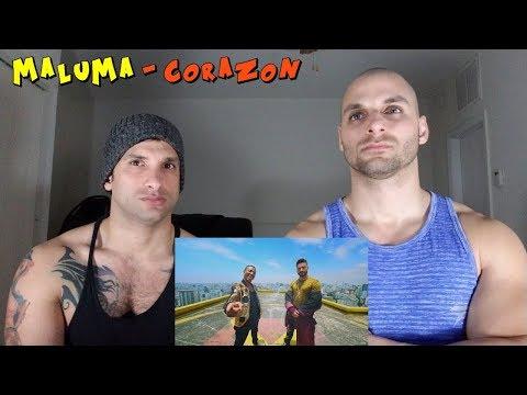 Maluma - Corazón (Official Video) Ft. Nego Do Borel [REACTION]