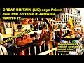 Prison Deal Still a Go for JAMAICA says Great Britain
