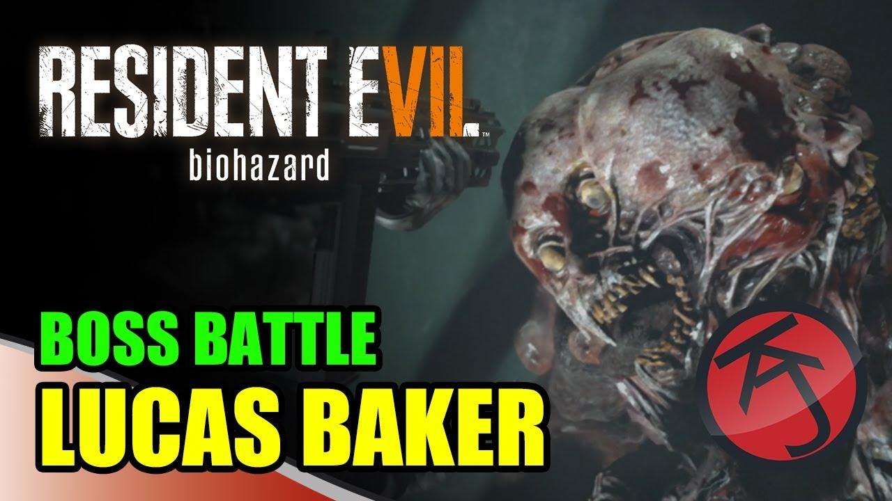 Resident Evil 7 – BOSS BATTLE: CHRIS VS LUCAS BAKER