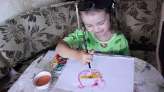Развивающее видео | Учимся рисовать кошечку| Развитие ребенка 3 лет(Добро пожаловать на канал Mini Vika, мы рады каждому гостю! Сегодня будем рисовать кошечку. Давайте учиться..., 2016-07-08T09:12:28.000Z)