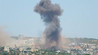 أخبار عربية - النظام يقصف قرى في ريف حماه الشرقي بالغاز السام