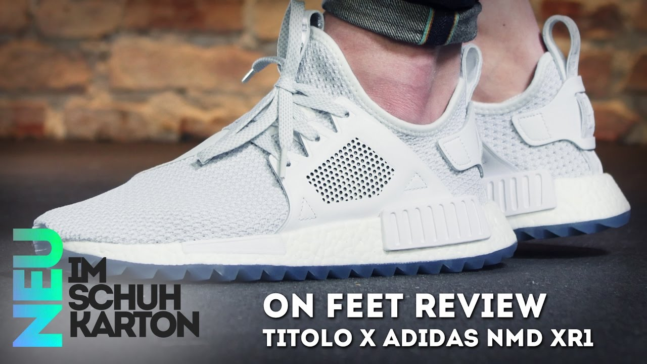 titolo x adidas nmd xr1trail über youtube