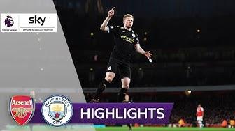 De Bruyne mit Doppelpack! | FC Arsenal - Manchester City 0:3 | Highlights - Premier League 2019/20