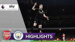 De Bruyne mit Doppelpack! | FC Arsenal - Manchester City 0:3 | Highlights - Premier League 2019/20