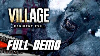 Resident Evil 8 Village: Village Demo (PS5) Full Gameplay Walkthrough - No Commentary
