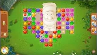 Gardenscapes Level 481 No Booster 🌲  l MiniGames