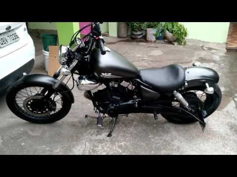 Virago 250 - customizada