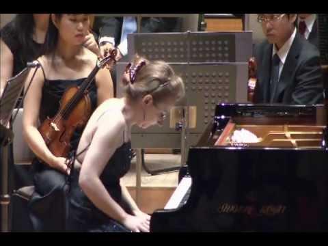 Marianna Prjevalskaya plays Brahms Piano Concerto n1