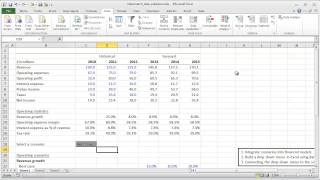Financial Modeling Quick Lesson: OFFSET / MATCH and Data Validation (Part 1)