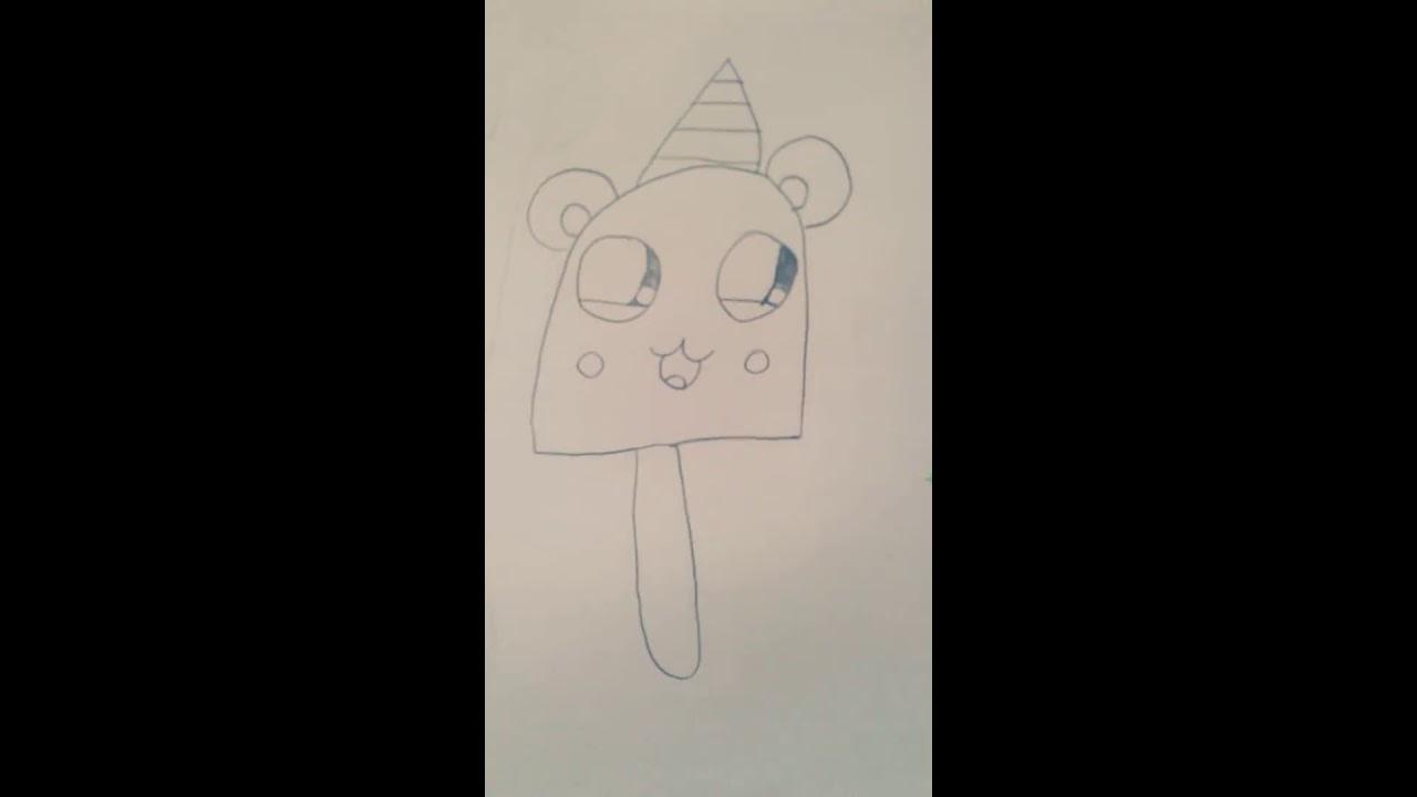 Tuto Dessin Comment Dessiner Une Glace Panda Et Licorne Loulou Art Kawaii