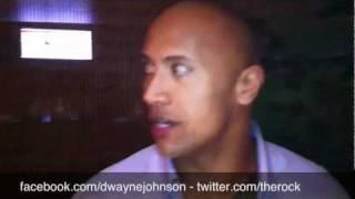 wwe the rock Dwayne Johnson