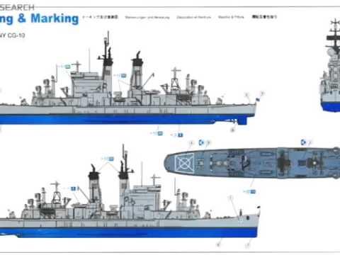 USS ALBANY CG-10