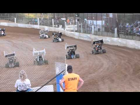 Micro600 Heat Race Hill Valley 8-24-2013