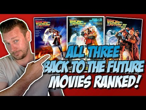 All 3 Back to the Future Movies Ranked From Worst to Best