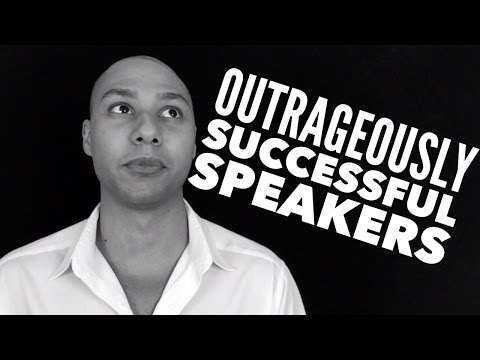 Speaker Training - How To Be Outrageously Successful As A Speaker