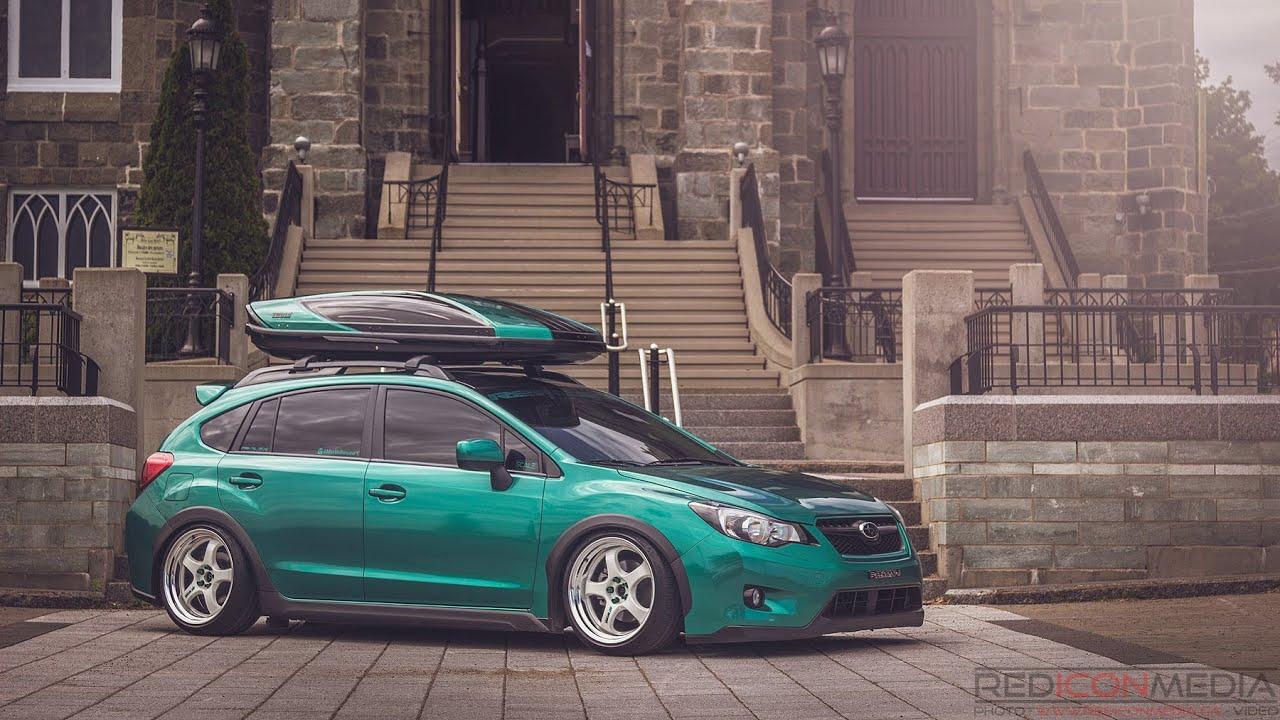 Subaru Crosstrek Sti Wheels >> Slammed Static Subaru Crosstrek |REDICONMEDIA| - YouTube