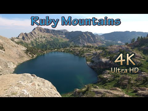 Nevada Fishing And Hiking Camping At Ruby Mountains Wilderness Lakes/A FIKE And HISH 4K Video