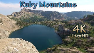 Nevada Fishing and Hiĸing Camping at Ruby Mountains Wilderness Lakes/A FIKE and HISH 4K Video