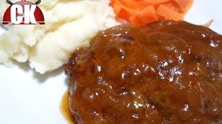 How To Make Salisbury Steak - Chef Kendra's Easy Cooking!