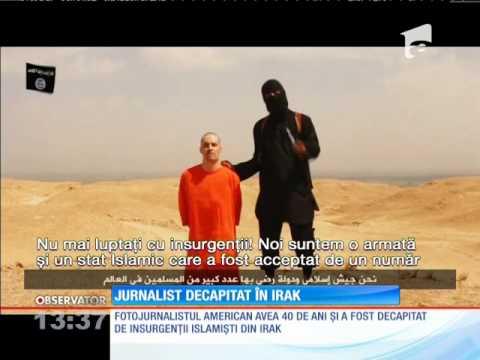 Jurnalist american, decapitat în Irak