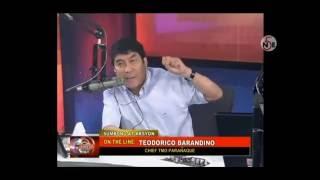 Mainitang Debate Nila Raffy Tulfo At Ng Maangas Na Chief Traffic Enforcer