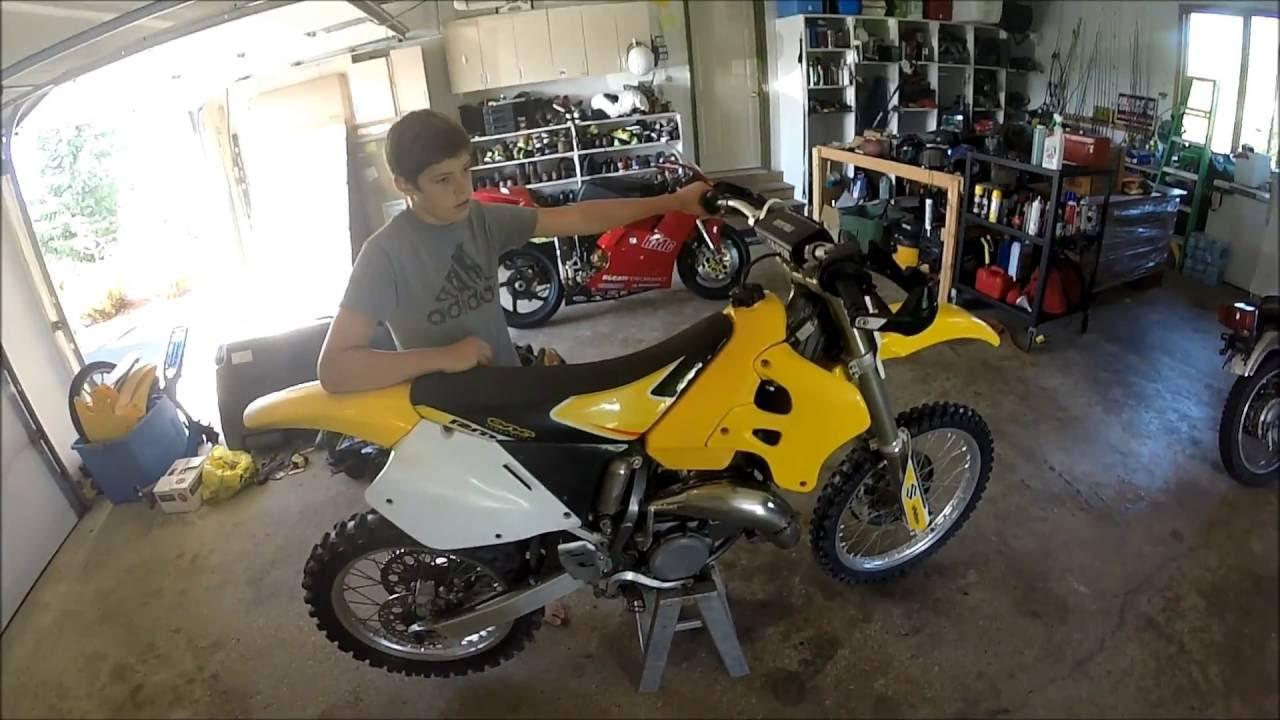 Suzuki Rm 125 Dirtbike Top Speed!!!
