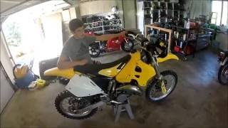 Suzuki Rm 125 Dirtbike Top Speed!!!