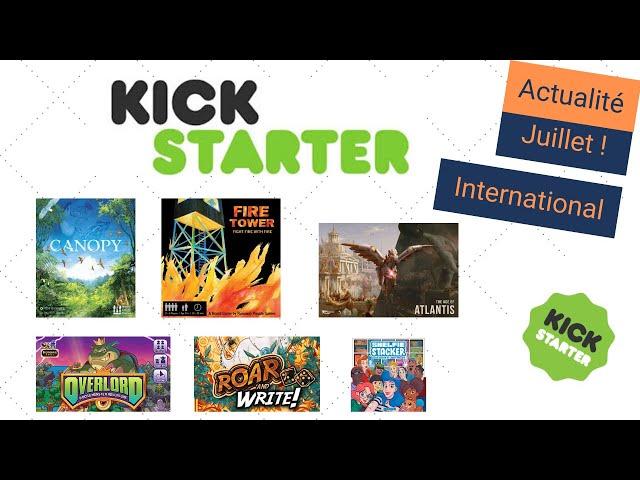 L'actualité Kickstarter de juillet (Spéciale internationale) : Canopy, Overlord, ... - ActuKS #6