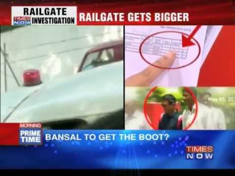 Pawan Kumar Bansal to get the boot?