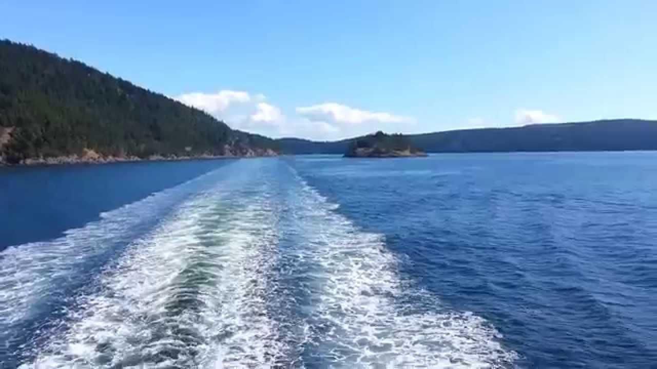 Washington state ferry anacortes to sidney youtube washington state ferry anacortes to sidney sciox Choice Image