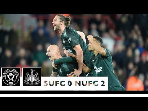 Sheffield United 0 Newcastle United 2: Brief Highlights