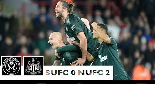 Sheffield United 0 Newcastle United 2: Brief Highlights