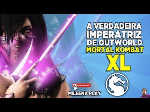 MORTAL KOMBAT XL - A VERDADEIRA IMPERATRIZ DE OUTWORLD MILEENA - PS4