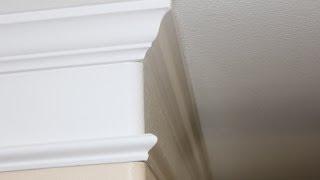 Crown Molding Detail Installation