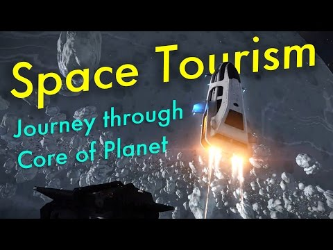 Space Tourism (Ep 5) - Journey Though Core of Planet | Elite: Dangerous