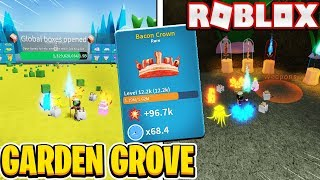 Garden Grove Is Insane NEW SWORD AND HATS In Roblox Unboxing Simulator