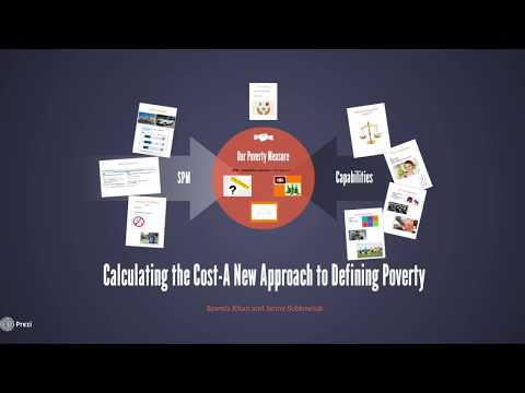 Calculating the Cost - A New Approach to Defining Poverty