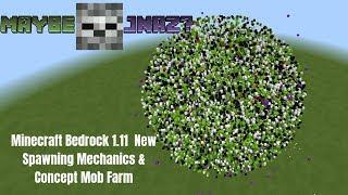 minecraft 1.14 mob spawn mechanics
